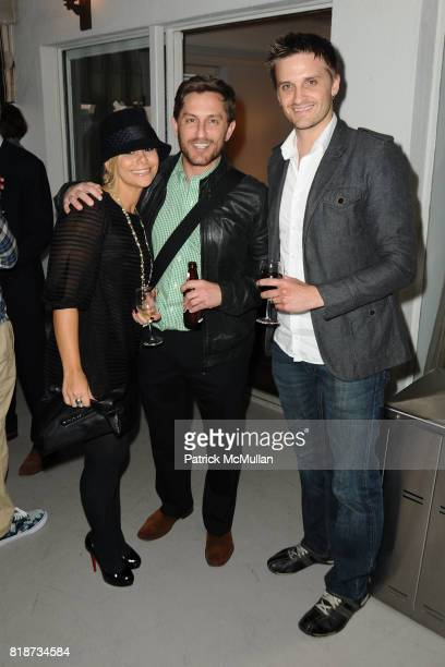 Collina Davis Adam Drucker and Curtis McConnal attend Bret Easton Ellis to celebrate the publication of his new novel IMPERIAL BEDROOMS at Penthouse...