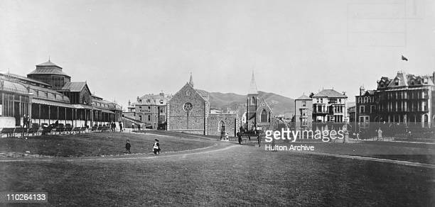 Collingwood and the shelter Ilfracombe Devon circa 1890