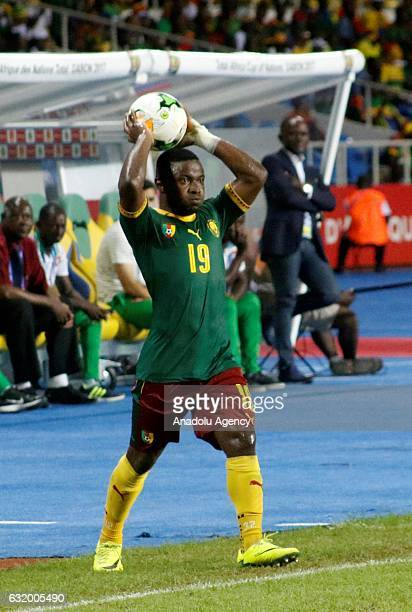 Collins Fai of Cameroon during the 2017 Africa Cup of Nations group A football match between Cameroon and Guinea Bissau at the l'Amitié stadium in...