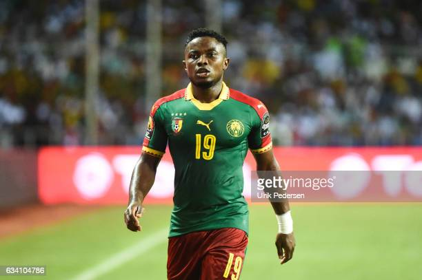 Collins Fai of Cameroon during the African Nations Cup Final match between Cameroon and Egypt at Stade de L'Amitie on February 5, 2017 in Libreville,...
