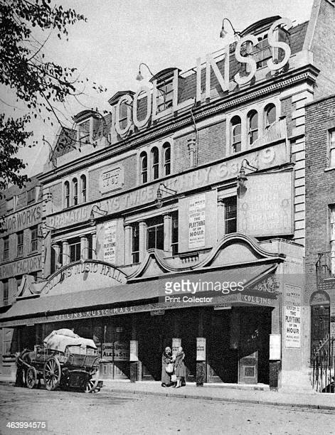 Collins's Music Hall Islington London 19261927 From Wonderful London volume II edited by Arthur St John Adcock published by Amalgamated Press