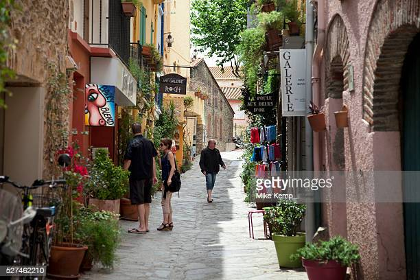 Collioure is a town in the Pyr��n��esOrientales department in southern France It lies on the Mediterranean and was a part of the ancient Roussillon...