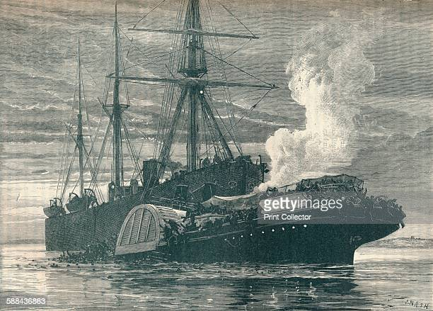 Collision of the 'Bywell Castle' with the 'Princess Alice', 1878 . The paddle steamer 'Princess Alice' was rammed by the collier 'Bywell Castle' off...