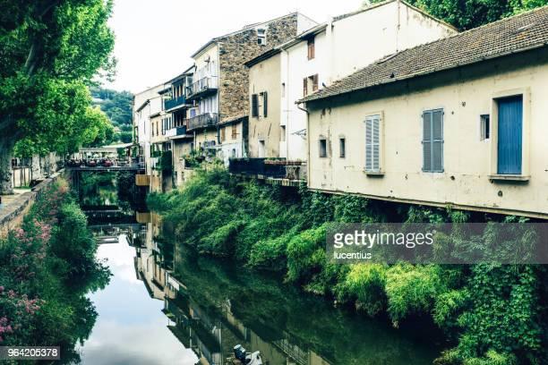 village de collobrières, provence, france - var photos et images de collection