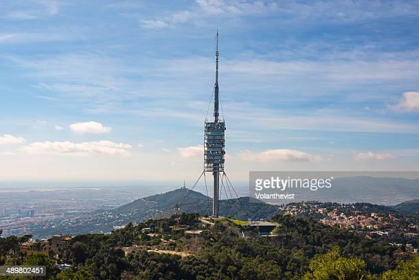 Collserola Tower, highest viewpoint over Barcelona