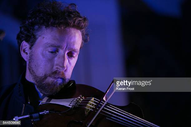 Colm Mac Con Iomaire performs at CastlePalooza festival at Charville Castle on July 3 2016 in Tullamore Ireland