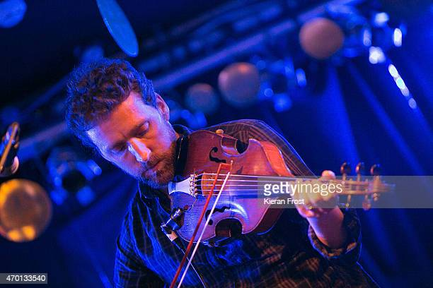 Colm Mac Con Iomaire performs at Whelan's on April 17 2015 in Dublin Ireland