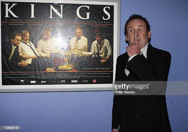 Colm Meaney at the Irish premiere of Kings in Cineworld Parnell Street on September 18 2007 in Dublin Ireland