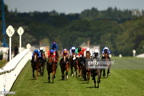 Colm O'Donoghue rides Alpha Centauri to win The Coronation Stakes on day 4 of Royal Ascot at Ascot Racecourse on June 22 2018 in Ascot England