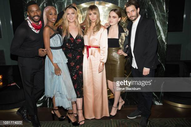 """Colman Domingo, Abra, Hari Nef, Suki Waterhouse, Odessa Young and Sam Levinson attend The """"Assassination Nation"""" Premiere Party during the 2018..."""
