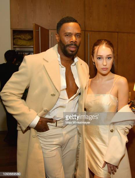 Colman Domingo and Alycia DebnamCarey attend The Hollywood Reporter's 7th Annual Nominees Night presented by MercedesBenz Century Plaza Residences...