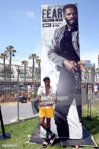 Colman Domingo attends AMC's Dead Quarters during Comic Con 2018 on July 21 2018 in San Diego California