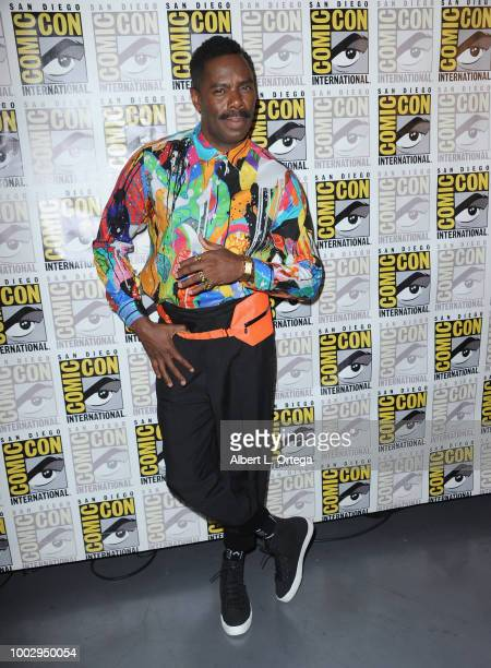 Colman Domingo attends at AMC's 'Fear The Walking Dead' panel during ComicCon International 2018 at San Diego Convention Center on July 20 2018 in...