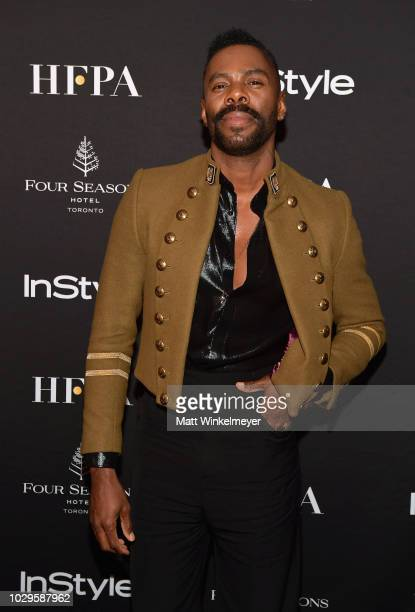 Colman Domingo attends HFPA and InStyle's TIFF Celebration at the Four Seasons Hotel on September 8 2018 in Toronto Canada