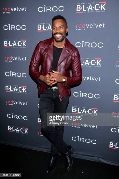Colman Domingo attends Stephan James And Shamier Anderson Host Third Annual BLACK Ball at TIFF Bell Lightbox on September 10 2018 in Toronto Canada