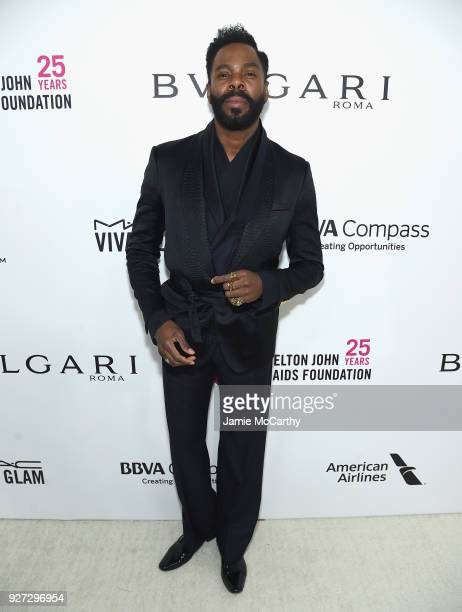 Colman Domingo attends the 26th annual Elton John AIDS Foundation Academy Awards Viewing Party sponsored by Bulgari celebrating EJAF and the 90th...