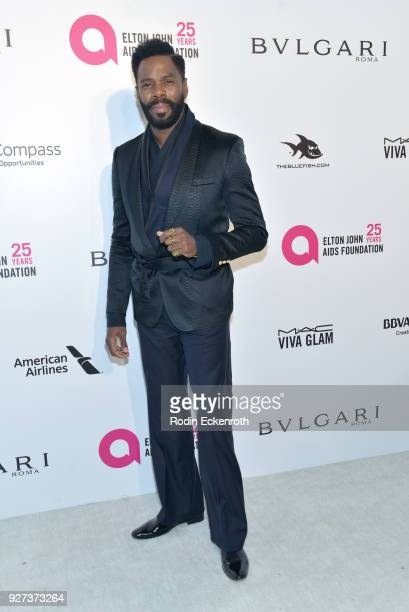 Colman Domingo attends the 26th annual Elton John AIDS Foundation's Academy Awards Viewing Party at The City of West Hollywood Park on March 4 2018...