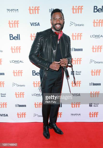 Colman Domingo attends the Assassination Nation premiere during 2018 Toronto International Film Festival at Ryerson Theatre on September 11 2018 in...