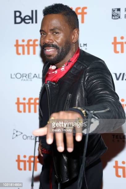 Colman Domingo attends the 'Assassination Nation' premiere during 2018 Toronto International Film Festival at Ryerson Theatre on September 11 2018 in...