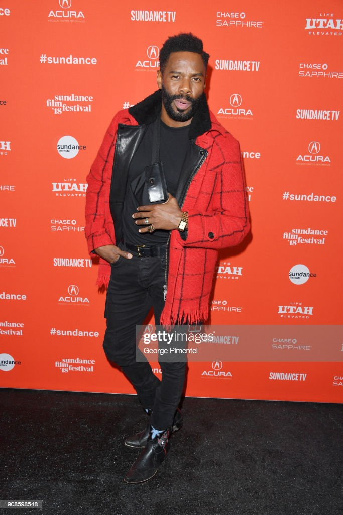 Colman Domingo attends the 'Assassination Nation' Premiere during the 2018 Sundance Film Festival at Park City Library on January 21, 2018 in Park City, Utah.