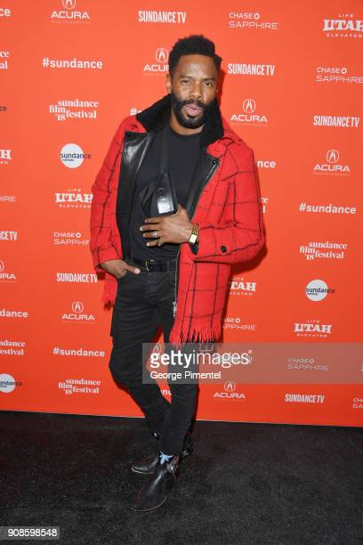 Colman Domingo attends the 'Assassination Nation' Premiere during the 2018 Sundance Film Festival at Park City Library on January 21 2018 in Park...