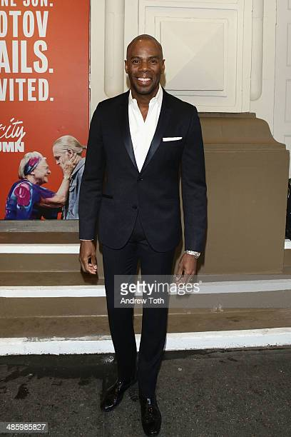 Colman Domingo attends the Broadway opening night for The Velocity of Autumn at Booth Theatre on April 21 2014 in New York City