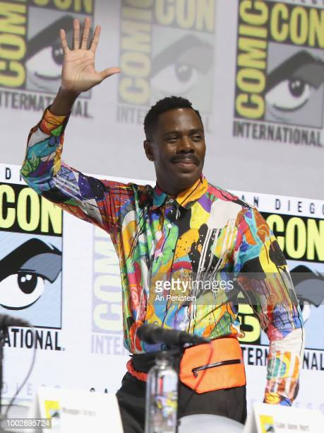 Colman Domingo attends the 'Fear the Walking Dead' panel with AMC during ComicCon International 2018 at San Diego Convention Center on July 20 2018...