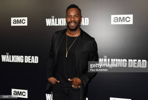 """Colman Domingo attends the premiere of AMC's """"The Walking Dead"""" season 9 at DGA Theater on September 27, 2018 in Los Angeles, California."""