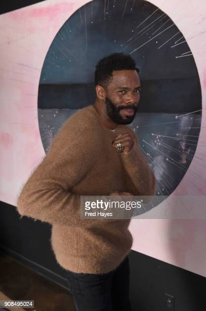 Colman Domingo attends the SAGindie Actors Only Brunch during the 2018 Sundance Film Festival on January 21 2018 in Park City Utah