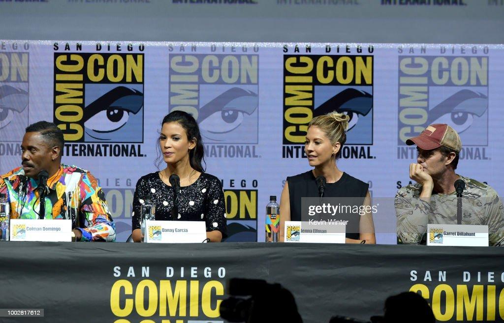 "Comic-Con International 2018 - AMC's ""Fear The Walking Dead"" Panel"