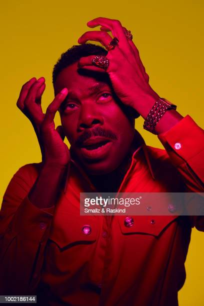Colman Domingo from AMC's 'Fear the Walking Dead' poses for a portrait in the Getty Images Portrait Studio powered by Pizza Hut at San Diego 2018...