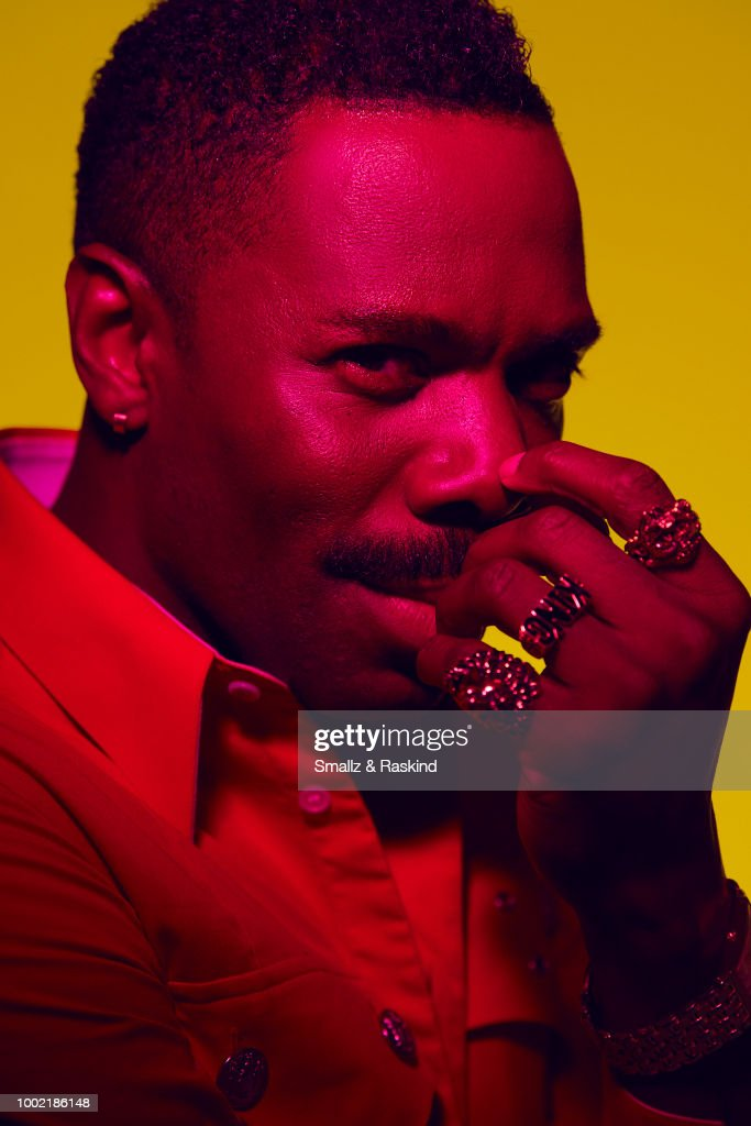 Colman Domingo from AMC's 'Fear the Walking Dead' poses for a portrait in the Getty Images Portrait Studio powered by Pizza Hut at San Diego 2018 Comic Con at Andaz San Diego on July 19, 2018 in San Diego, California.
