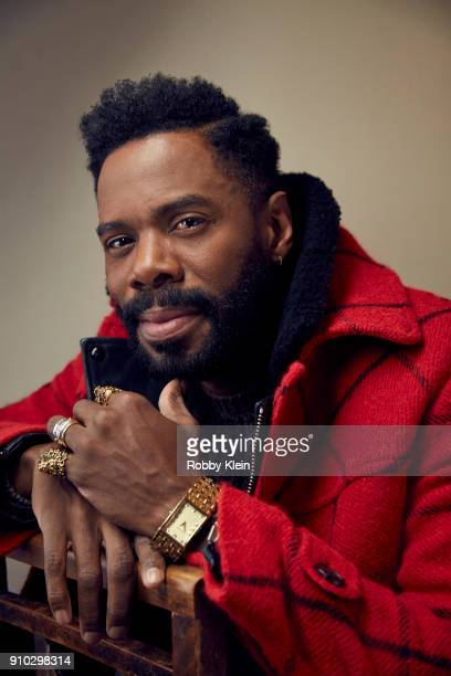 Colman Domingo from 'Assassination Nation' poses for a portrait at the YouTube x Getty Images Portrait Studio at 2018 Sundance Film Festival on...