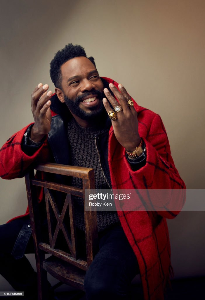 Colman Domingo from 'Assassination Nation' poses for a portrait at the YouTube x Getty Images Portrait Studio at 2018 Sundance Film Festival on January 22, 2018 in Park City, Utah.