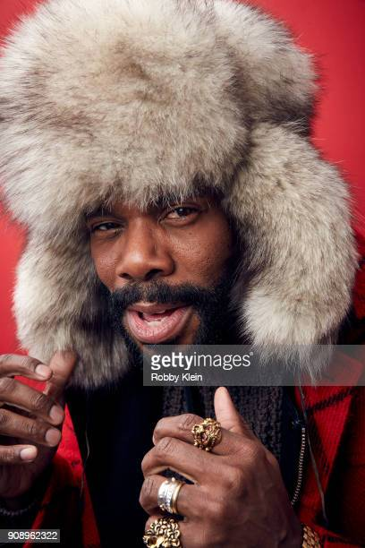 Colman Domingo from the film 'Assassination Nation' poses for a portrait in the YouTube x Getty Images Portrait Studio at 2018 Sundance Film Festival...