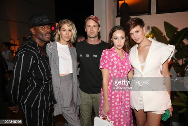 Colman Domingo Jenna Elfman Garret Dillahunt Alycia DebnamCarey and Maggie Grace attend AMC's 'Better Call Saul' Premiere during Comic Con 2018 at UA...