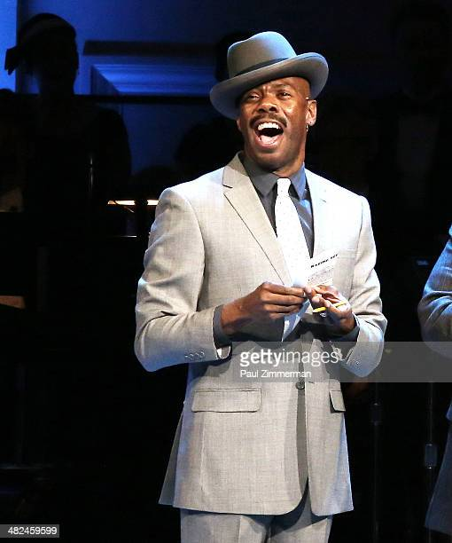 Colman Domingo performs Guys And Dolls at Carnegie Hall on April 3 2014 in New York City