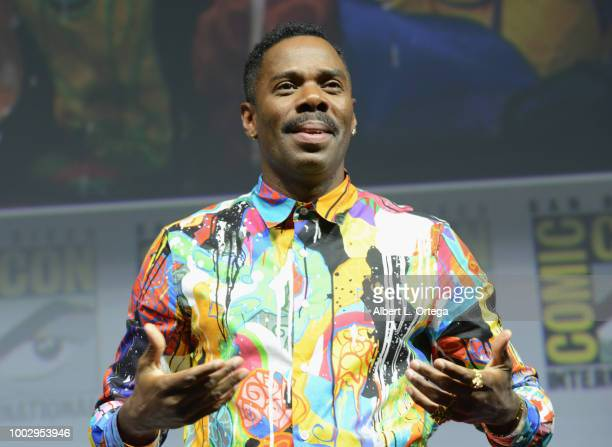 Colman Domingo speaks onstage at AMC's 'Fear The Walking Dead' panel during ComicCon International 2018 at San Diego Convention Center on July 20...