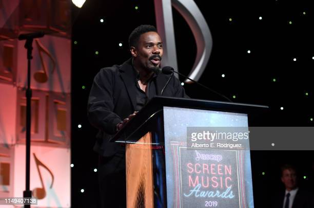 Colman Domingo speaks onstage during the ASCAP 2019 Screen Music Awards Show at The Beverly Hilton Hotel on May 15 2019 in Beverly Hills California