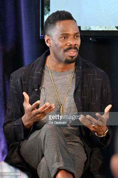 Colman Domingo speaks onstage during the How Stories Are Told Voices of Genre panel the AMC Network Summit on April 08 2019 in New York City