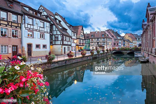 colmar, alsace, france - colmar stock photos and pictures
