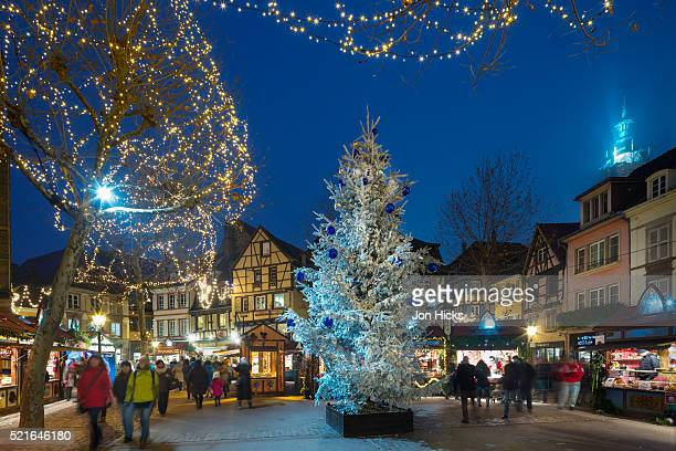 Colmar Christmas Market, Alsace, France.