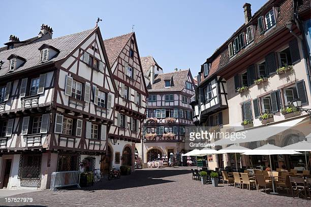 Colmar France half-timbered houses