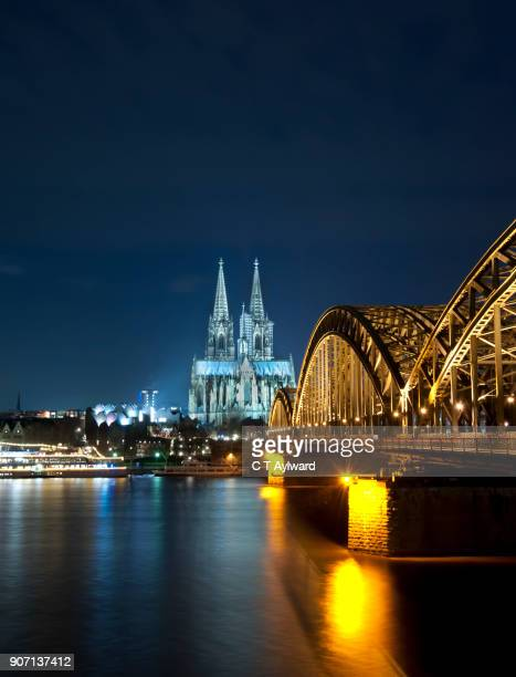 Cologne Bridge and Cathedral, Germany