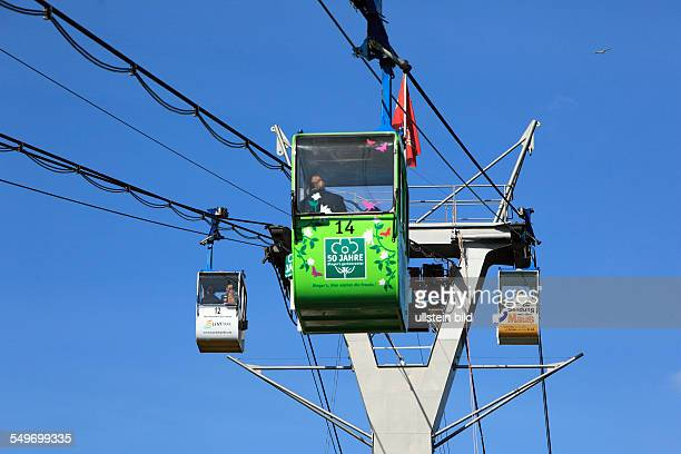Cologne Cable Car between Cologne-Riehl and Cologne-Deutz