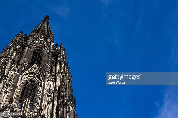 cologne cathedral, high cathedral of sts. peter and mary, germany - jake warga stock photos and pictures