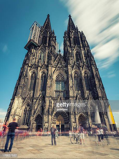 cologne cathedral in germany - cologne cathedral stock photos and pictures