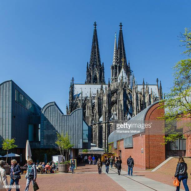 CONTENT] Cologne Cathedral showing part of the museum