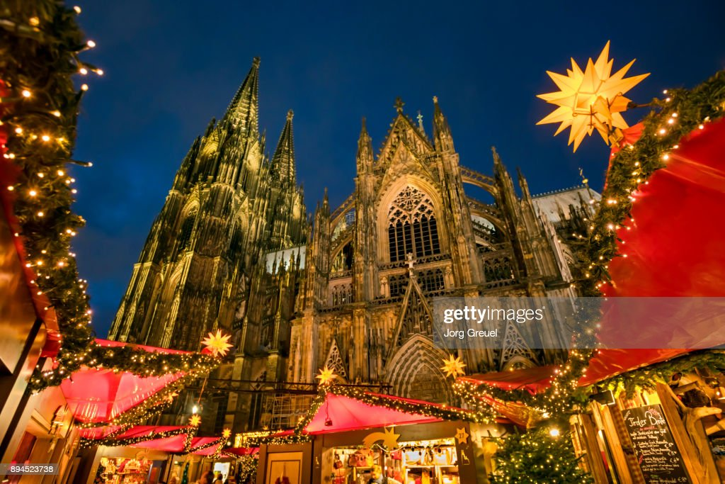 Cologne Christmas Market Stock Photo | Getty Images