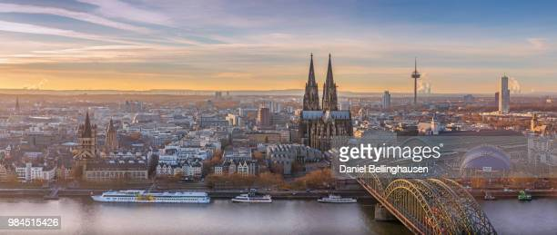 cologne cityscape - cologne stock pictures, royalty-free photos & images